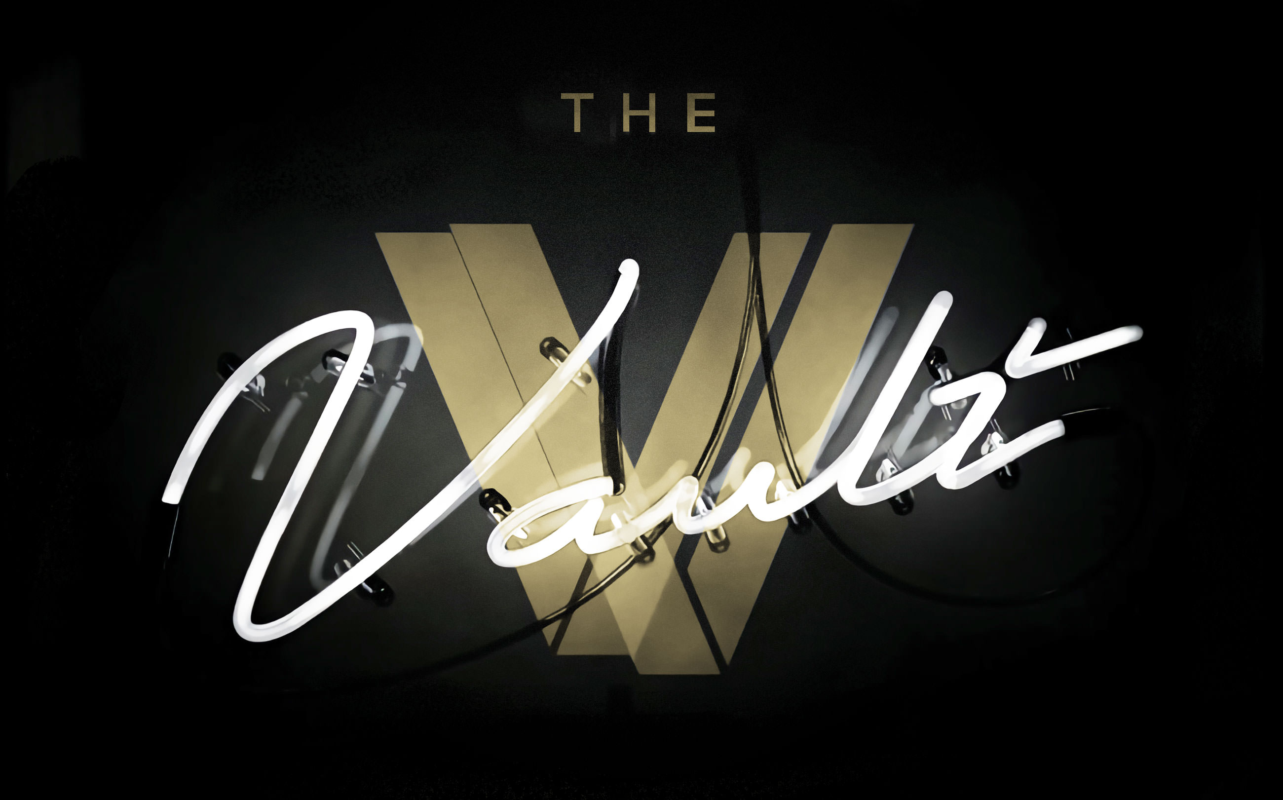 The Vault Nashville Neon Sign Logo
